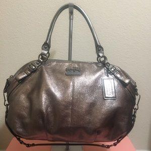 COACH Metallic Madison Sofia Bag
